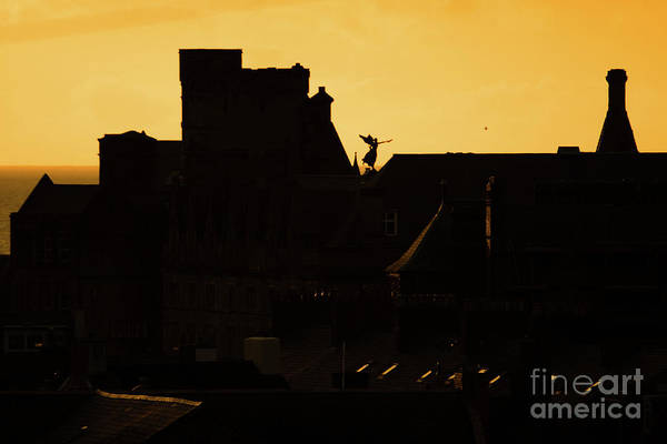 Photograph - Aberystwyth Skyline Wales by Keith Morris