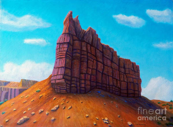 Wall Art - Painting - Abiquiu by Brian  Commerford