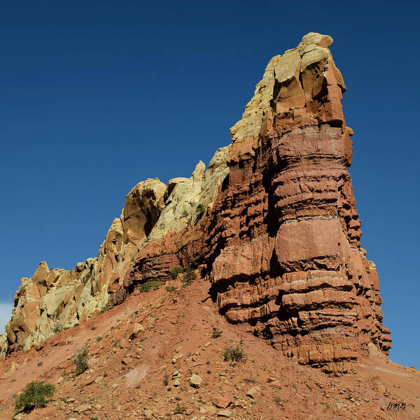 Photograph - Abiquiu Landscape Vi Color Sq by David Gordon