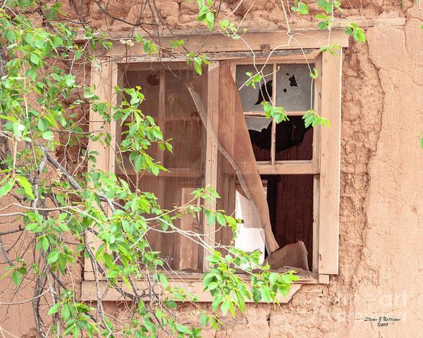 Photograph - Abiquiu Window 1 by Steven Natanson