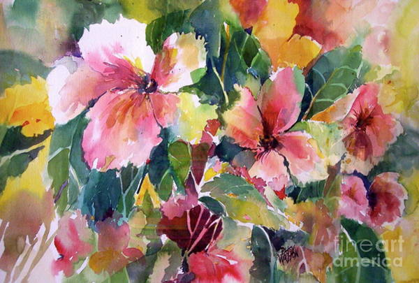 Painting - Abloom by Patsy Walton