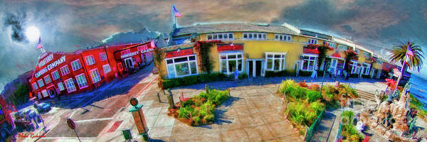 Photograph - Above Cannery Row Monterey Ca by Blake Richards