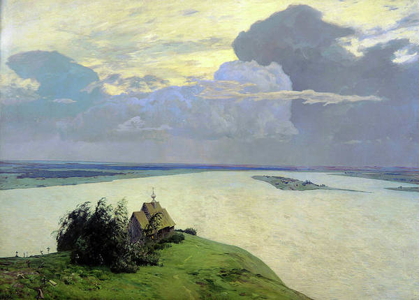 Wall Art - Painting - Above Eternal Peace by Isaac Levitan