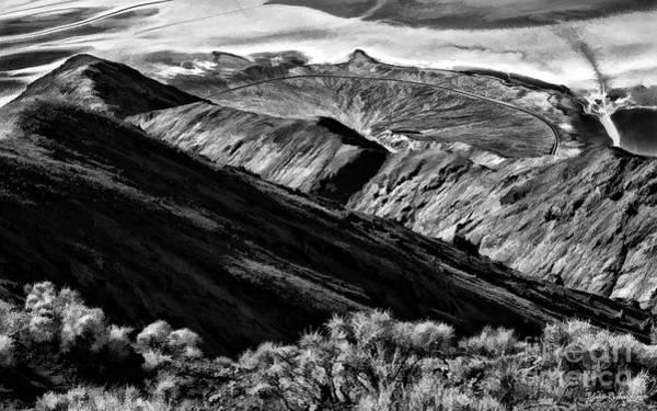 Photograph - Above The Badwater Basin Death Valley by Blake Richards