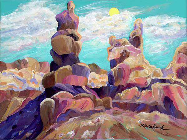 Painting - Above The Chimney Tops by Linda Rauch