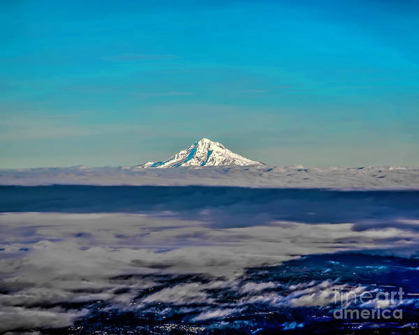 Photograph - Above The Clouds by Jon Burch Photography