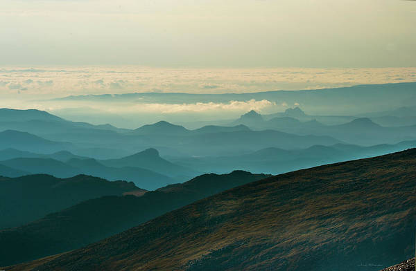 Photograph - Above The Clouds by Judi Dressler
