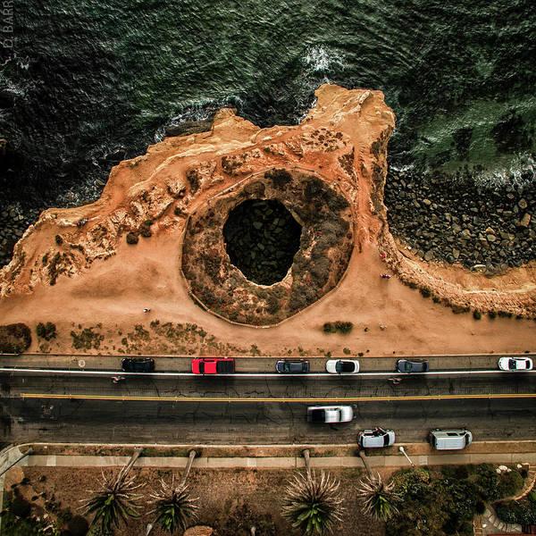 Drone Wall Art - Photograph - The Hole by Doug Barr