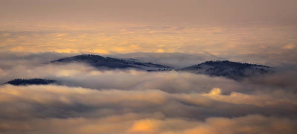 Photograph - Above The Morning Clouds by Ken Barrett