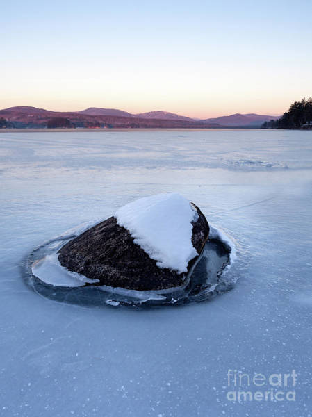 Photograph - Above The Surface, Wilson Lake, Wilton, Maine  -88126-88128 by John Bald