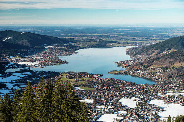 Photograph - Above The Tegernsee by Hannes Cmarits