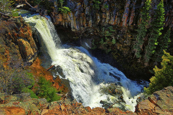 Photograph - Above Undine Falls by Greg Norrell
