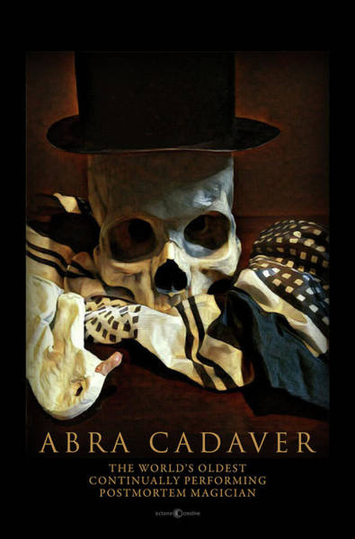 Painting - Abra Cadaver Poster by Tim Nyberg