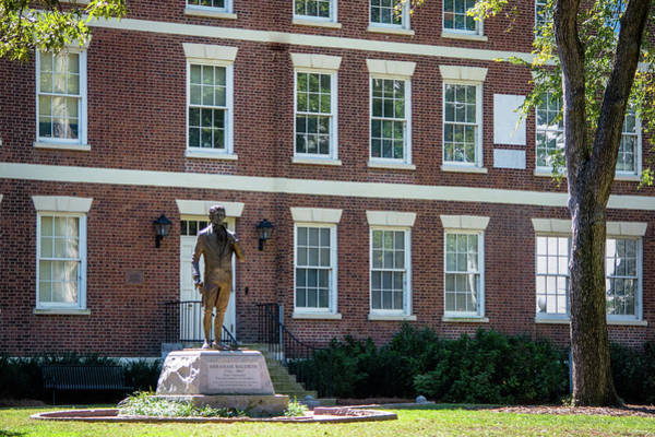 Photograph - Abraham Baldwin Statue At Uga by Parker Cunningham