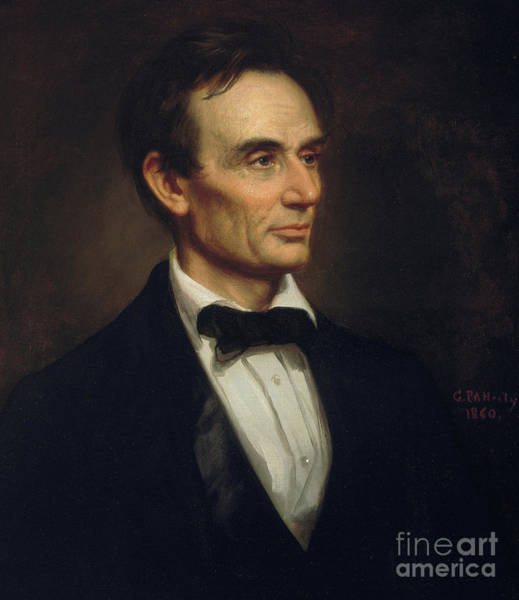 Honest Painting - Abraham Lincoln, 1860 by George Peter Alexander Healy