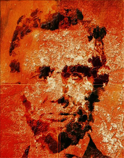 General Washington Mixed Media - Abraham Lincoln 4d by Brian Reaves