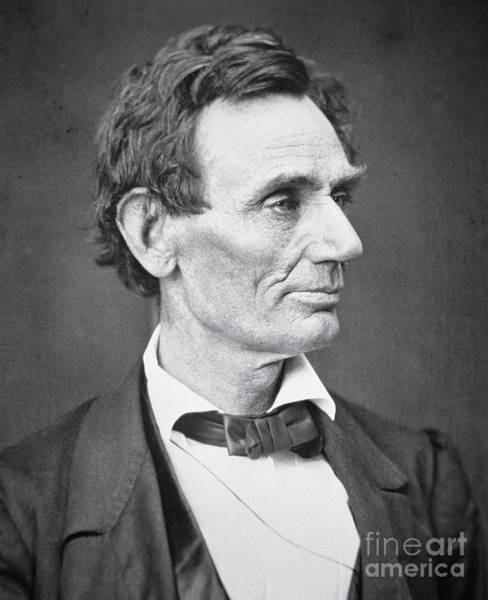 Wall Art - Photograph - Abraham Lincoln by Alexander Hesler