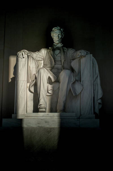Photograph - Abraham Lincoln And The Current State Of Affairs by Marvin Bowser