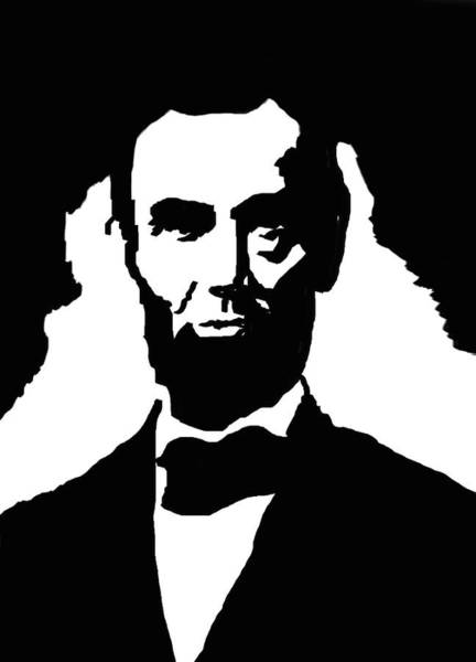 Honest Painting - Abraham Lincoln by Art Spectrum