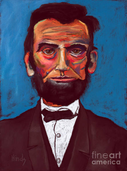 Honest Painting - Abraham Lincoln by David Hinds
