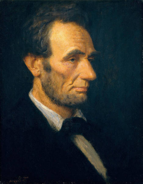 Wall Art - Painting - Abraham Lincoln by Douglas Volk