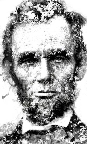 Us Civil War Digital Art - Abraham Lincoln For Eternity by Daniel Hagerman