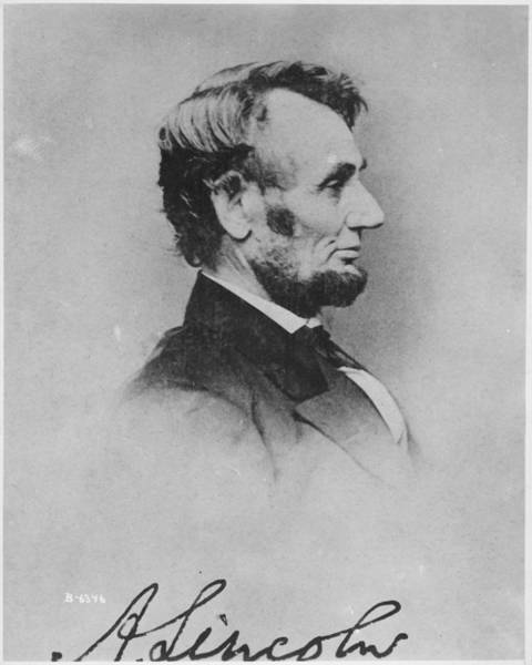 Photograph - Abraham Lincoln by Pablo Lopez