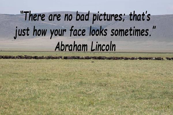 Photograph - Abraham Lincoln Quote by Tony Murtagh