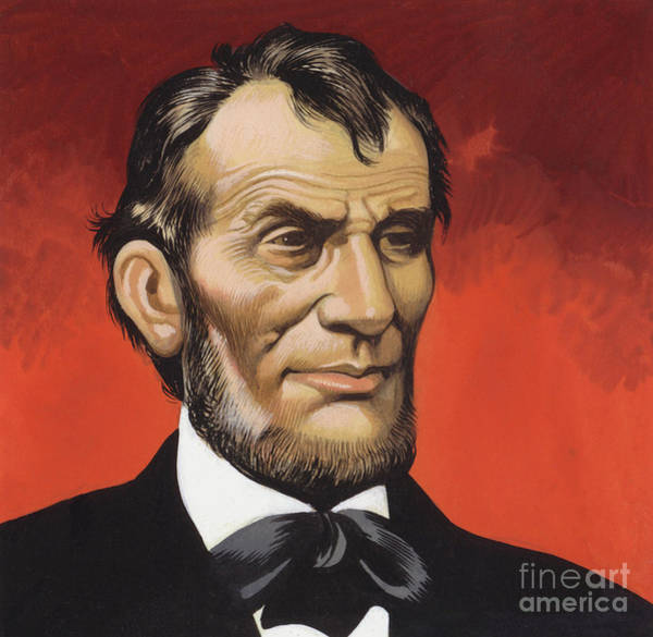 Honest Painting - Abraham Lincoln by Ron Embleton