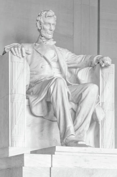 Photograph - Abraham Lincoln by Stewart Helberg
