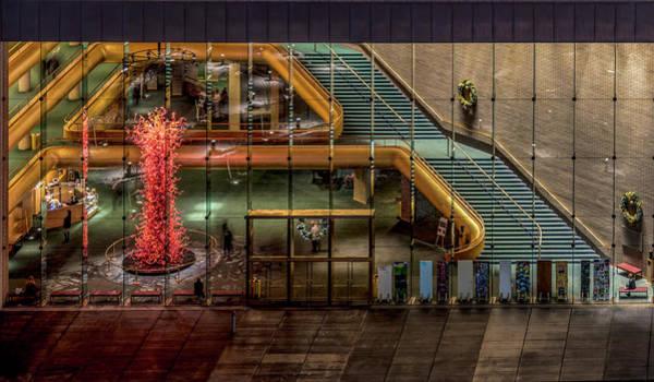 Photograph - Abravanel Hall by Michael Ash