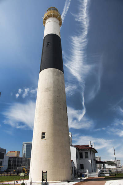 Photograph - Absecon Lighthouse 2 - Atlantic City by Kristia Adams