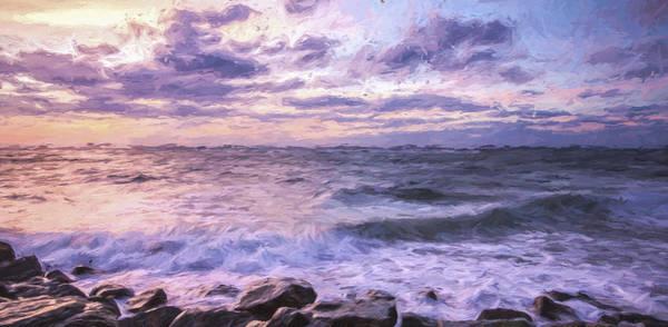 Beautiful Sunrise Digital Art - Absense Of Sunlight II by Jon Glaser