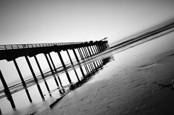 Scripps Pier Photograph - Absolute- Ocean Series B by See My  Photos