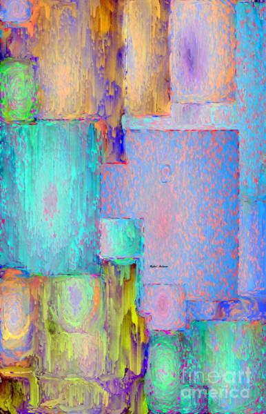 Digital Art - Abstract 01153 by Rafael Salazar