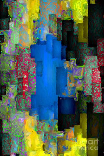 Digital Art - Abstract 01155 by Rafael Salazar