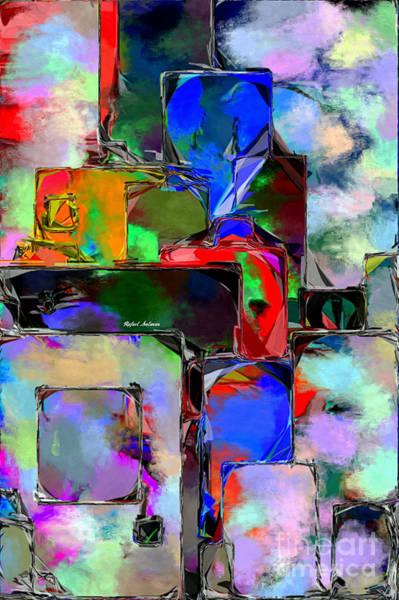 Digital Art - Abstract 01172 by Rafael Salazar