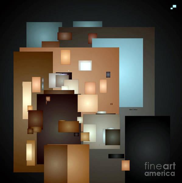 Digital Art - Abstract 0681 by Rafael Salazar
