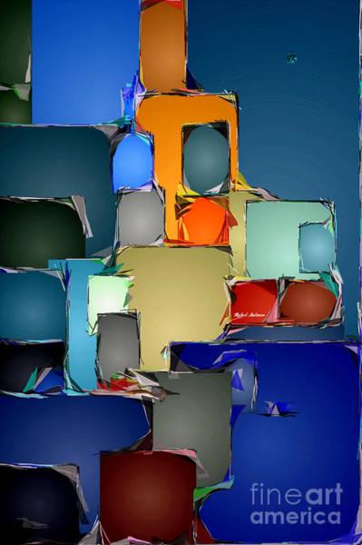 Digital Art - Abstract 0840 by Rafael Salazar