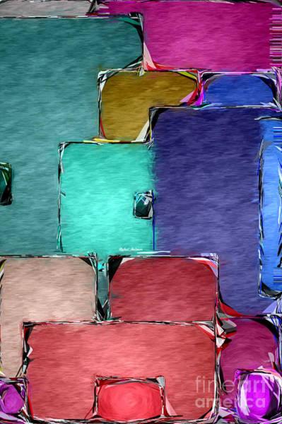 Digital Art -  Abstract 0841 by Rafael Salazar