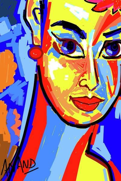 Wall Art - Digital Art - Abstract-10 by Anand Swaroop Manchiraju