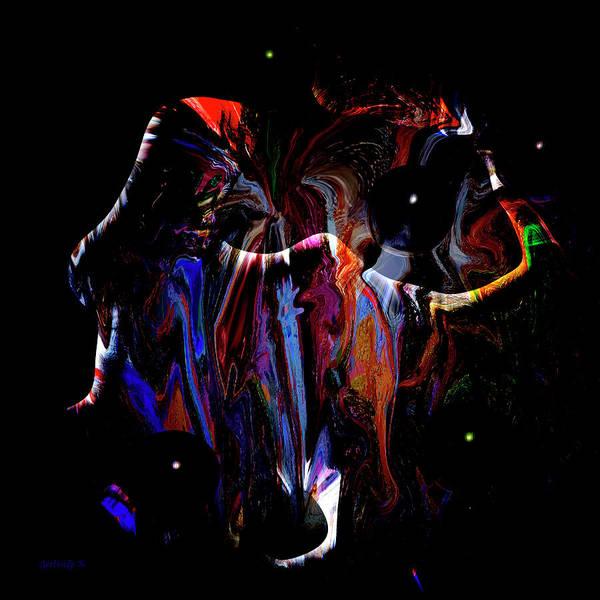 Digital Art - Abstract 1001 by Gerlinde Keating - Galleria GK Keating Associates Inc