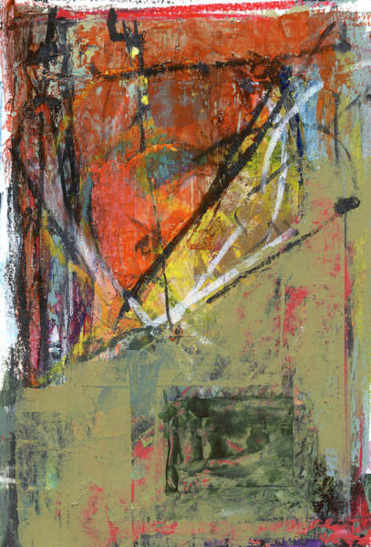 Abstrait Wall Art - Mixed Media - Abstract 1017 by Chris N Rohrbach