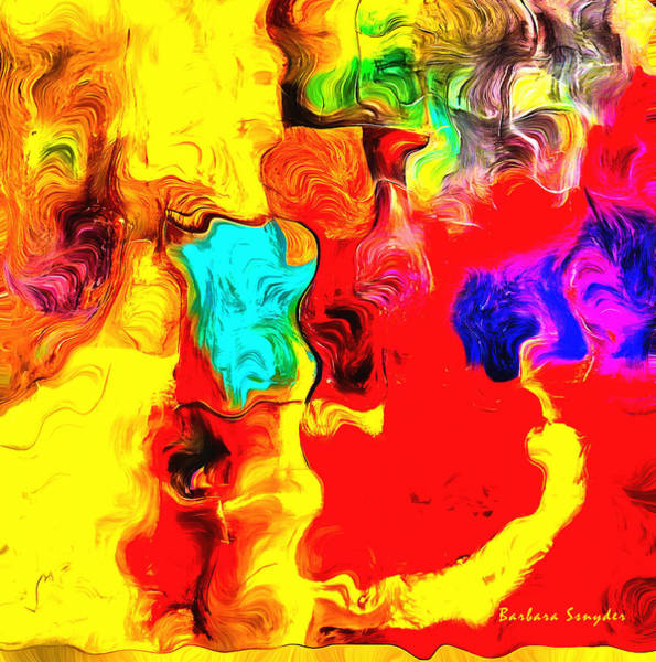 Painting - Abstract 104 by Barbara Snyder