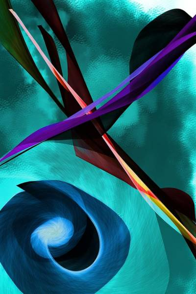 Wall Art - Digital Art - Abstract 111417 by David Lane