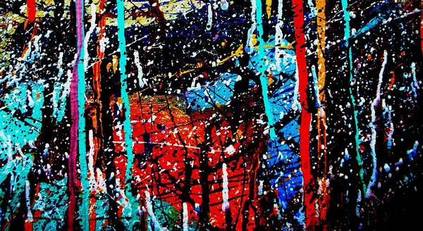 Expressionism Mixed Media - Abstract 12 by John  Nolan