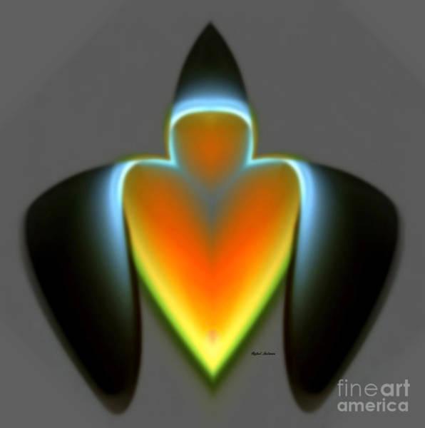 Digital Art - Abstract 1301 by Rafael Salazar
