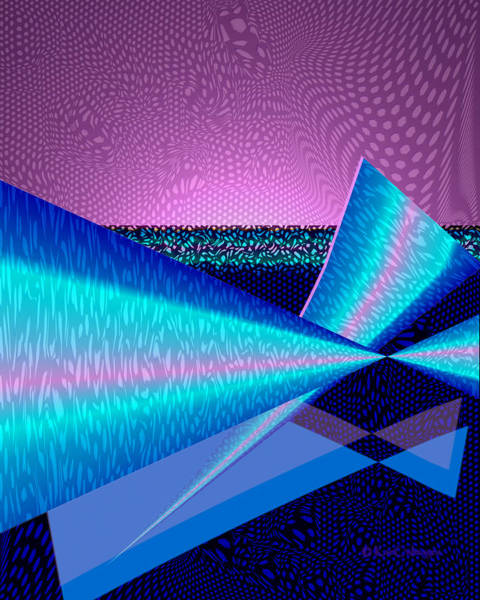 Digital Art - Abstract 17b by Kae Cheatham