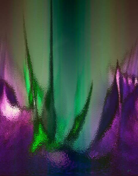 Digital Art - Abstract 2 by Gerlinde Keating - Galleria GK Keating Associates Inc