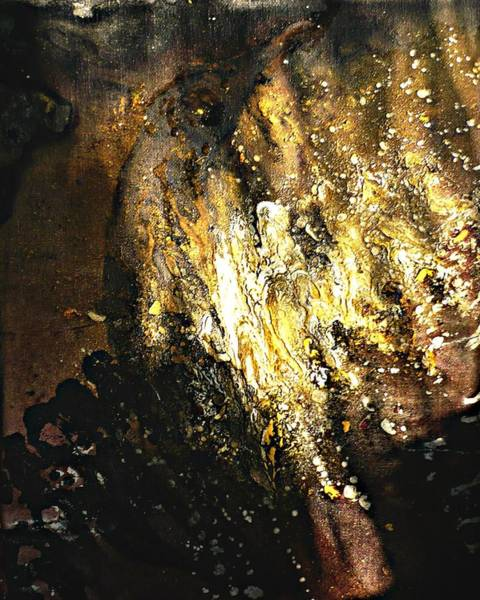 Painting - The Eagle's Emanations  by 'REA' Gallery